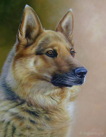 Dog painting portrait paintings dogs for Painting of your dog